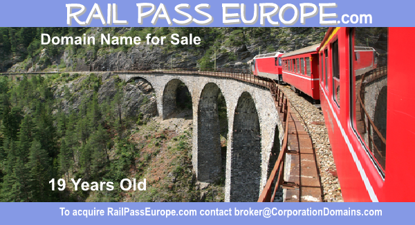 image of RailPassEurope.com domain name for sale in beauty and haircare retail and ecommerce markets