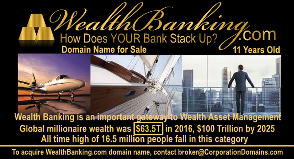 WealthBanking.com domain name for wealth banking